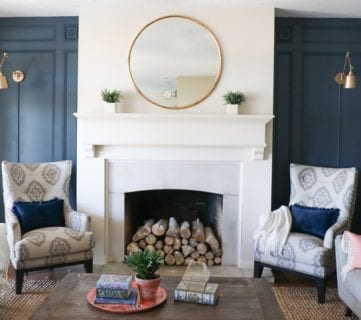 DIY Elegant Paneled Wall Treatment