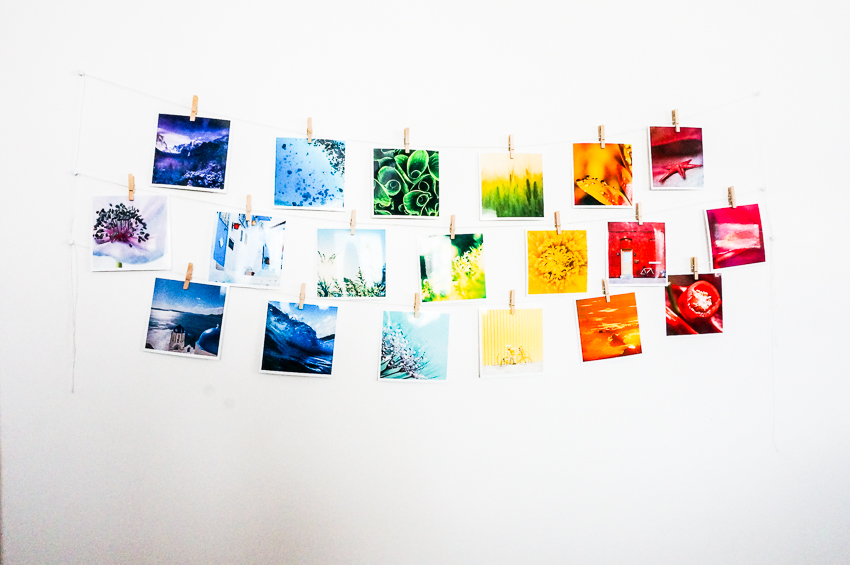 Rainbow Instagram Collage