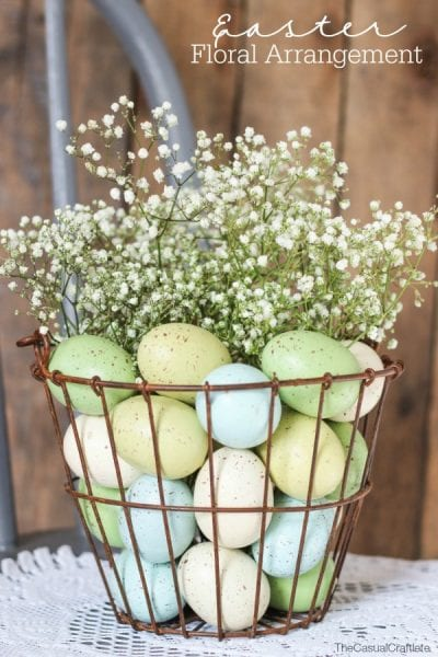 Easter Floral Arrangement E1425836300172
