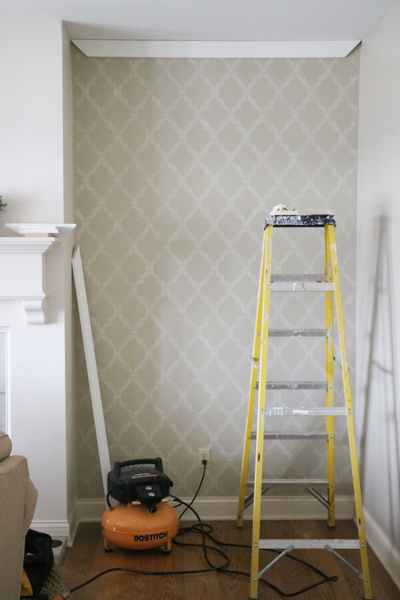 Elegant DIY Paneled Wall
