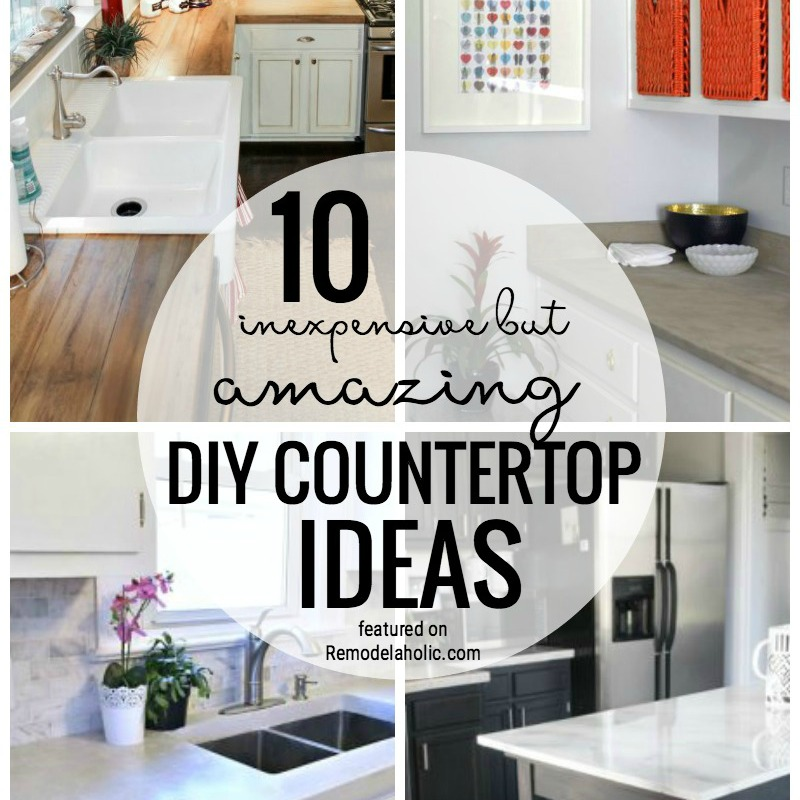 10 Amazing Christmas Decorations You Can Do On A Budget: 10 Inexpensive But Amazing DIY Countertop