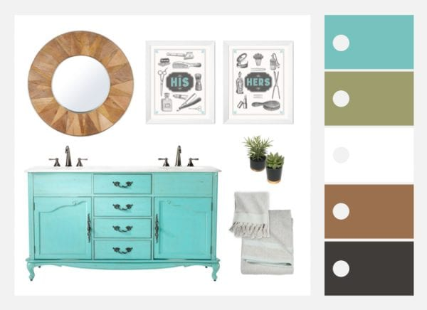 Bathroom Color Ideas and Design   Tips and Decor Picks   Colorful Bathrooms