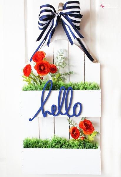 Flowerbox Door Hanger 7