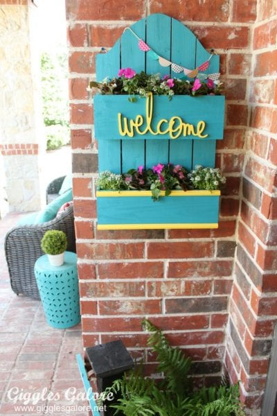 Front Porch Spring Planter Box