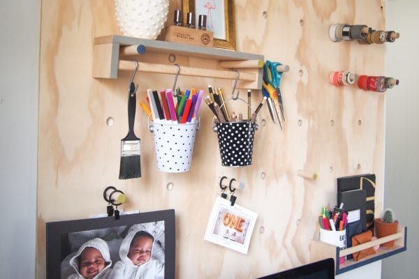 Giant Plywood Pegboard 12
