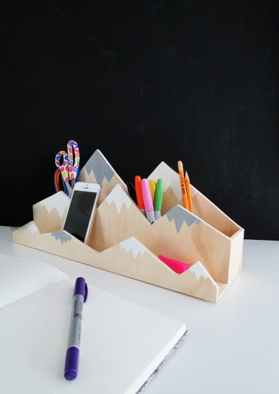 Plywood Organizer Projects Oh Oh Blog Desk Organizer
