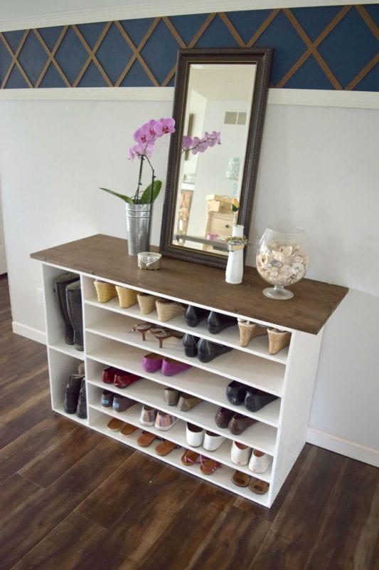 how to build a closet organizer from plywood