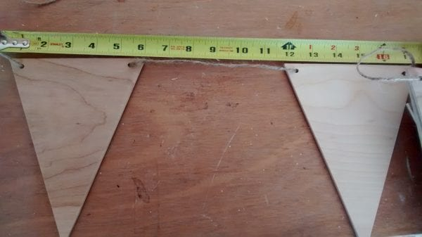 Remodelaholic Plywood Pennant Project (10)