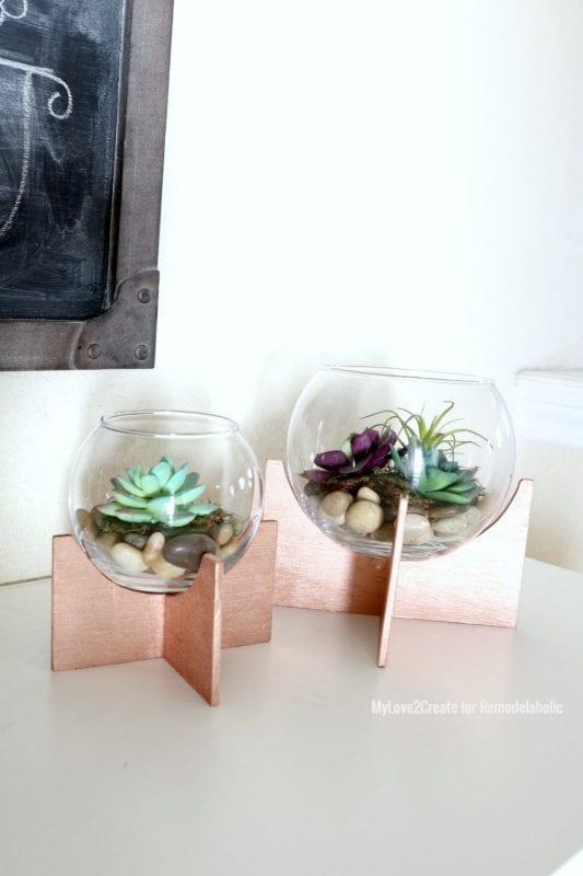 Small Terrariums, MyLove2Create