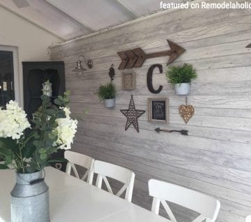 Friday Favorites: Hexagon Backsplash and Backyard Pond