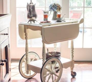 Friday Favorites: Raised Garden Beds and Vintage Tea Cart