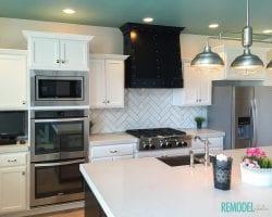 Aqua White Kitchen 2