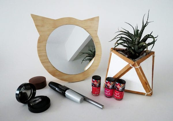 Diy Plywood Cat Mirror 9