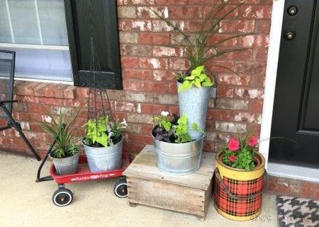 Macetas para el porche y qué plantar en Shes Crafty Zpsc2w0imzg