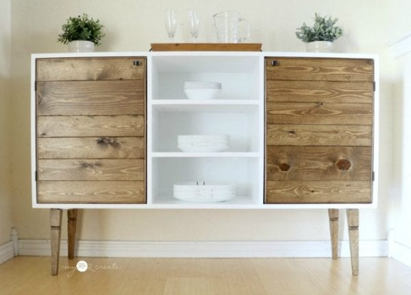 Full Front Of Modern Rustic Buffet, MyLove2Create
