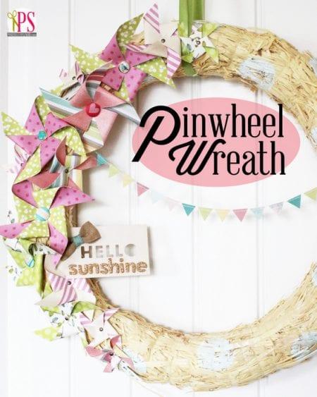 Pinwheel Wreath Title 3