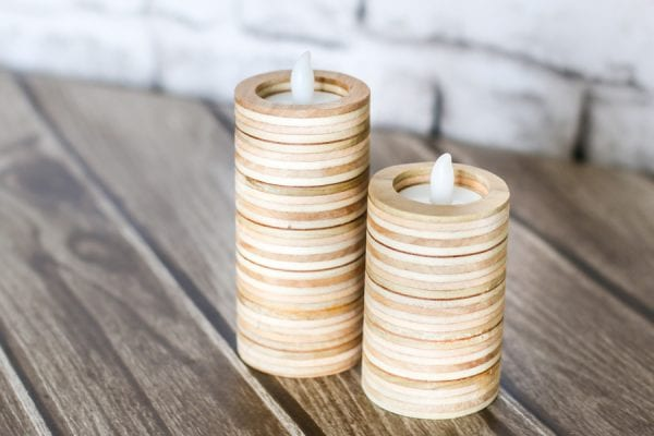 Plywood Candleholders The House of Wood
