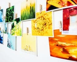 Print At Home Rainbow Collage @Remodelaholic