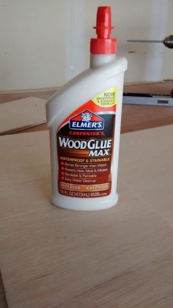 Remodelaholic Plywood Leaning Shelf (5)