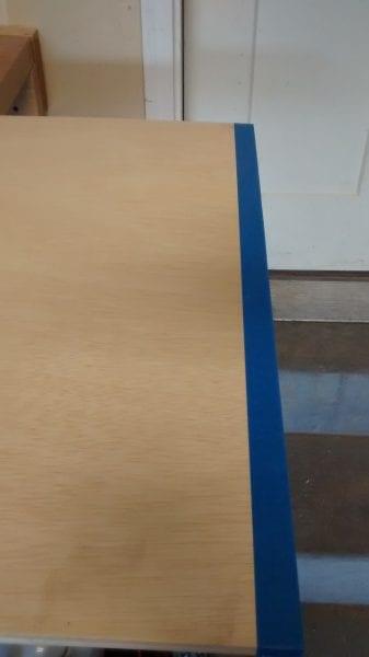 Remodelaholic Plywood Leaning Shelf (7)