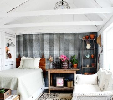 Friday Favorites: Guest House Shed and Beautiful Beams