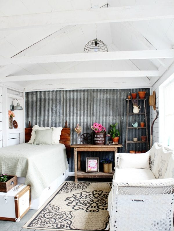 Spring And Summer Decorating With Flowers Farmhouse Style Guest House Knick Of Time