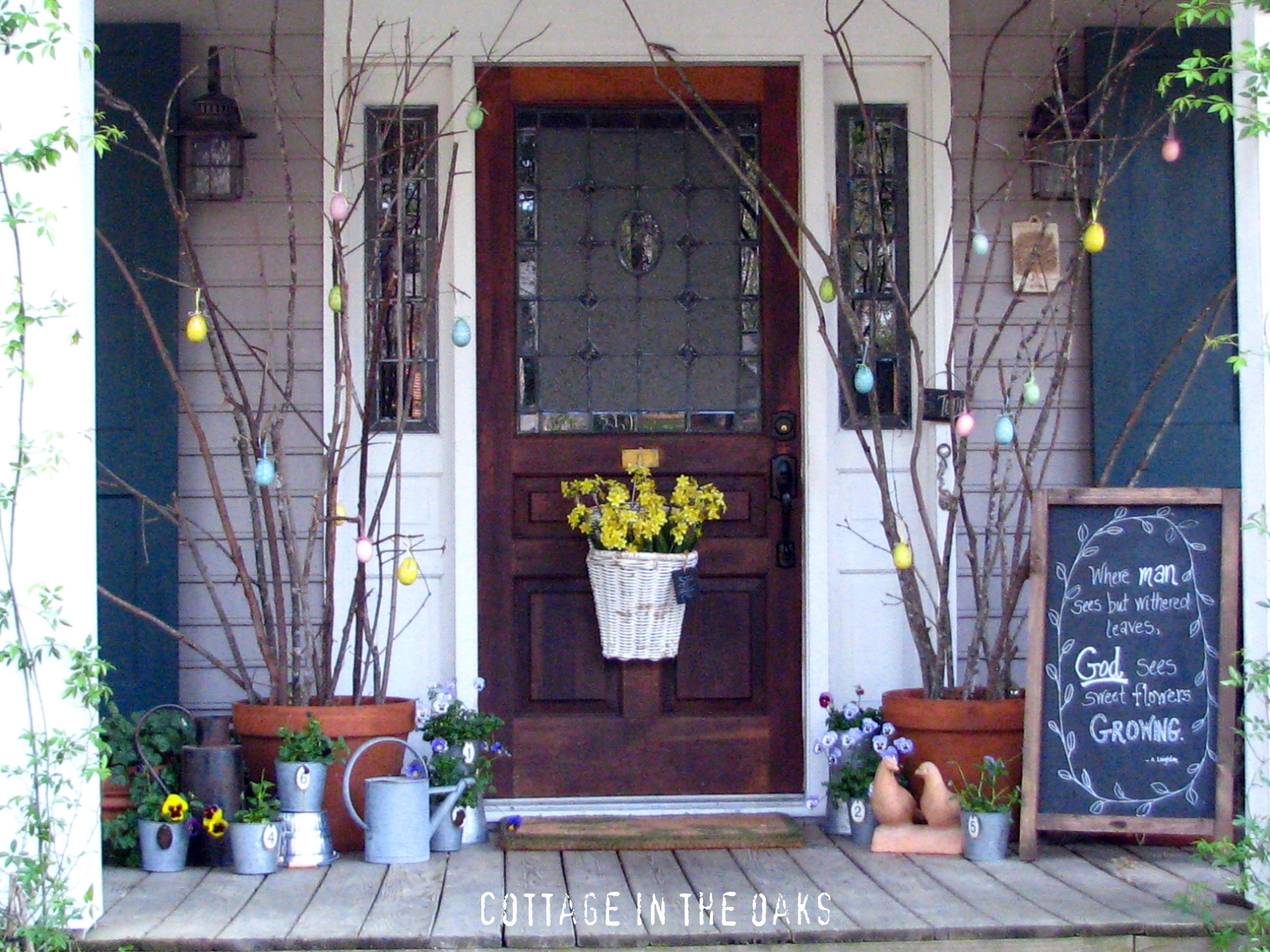 Remodelaholic 23 Fresh Spring Porch Inspirations