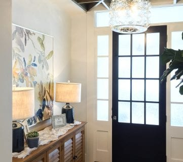 Get This Look: A Transitional Entryway