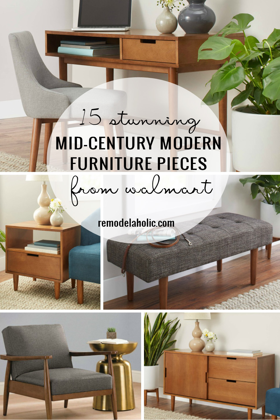 Remodelaholic | 15 Stunning Mid Century Modern Furniture Pieces From Walmart