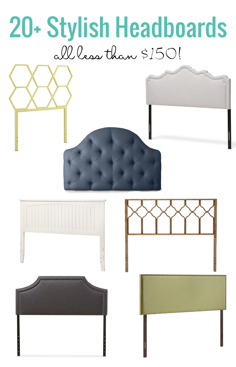remodelaholic | 20+ stylish headboards under $150