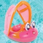 31 Play Day Baby Float Fish Pink
