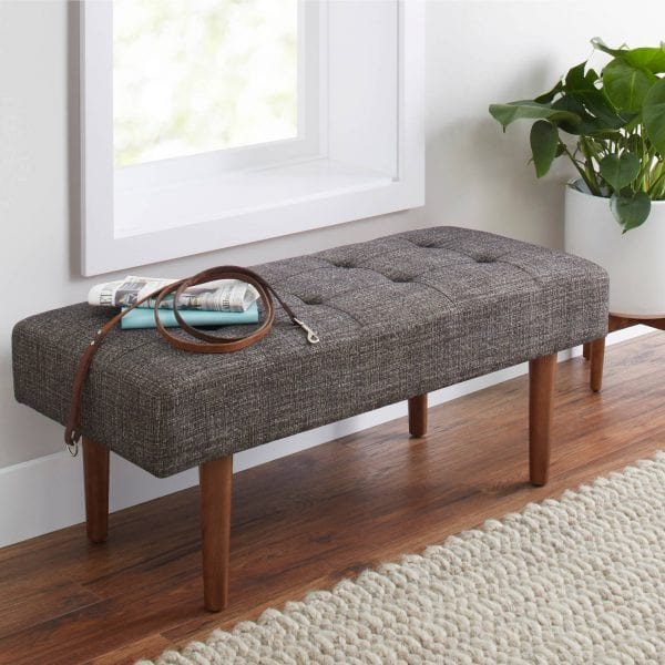 BHG Flynn Upholstered Bench