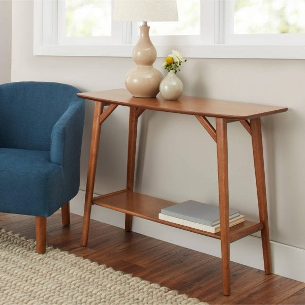 BHG Reed Console Table
