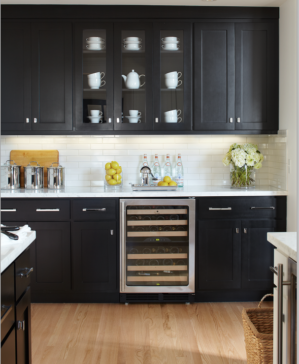 Black Kitchen Cabinets Paint Color: Most Popular Black Paint Colors