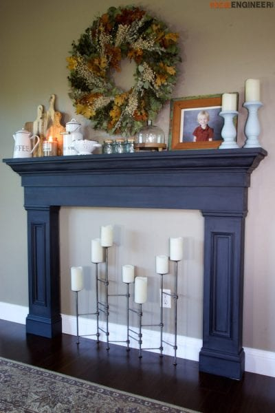 Remodelaholic No Mantel No Problem 25 Ideas For