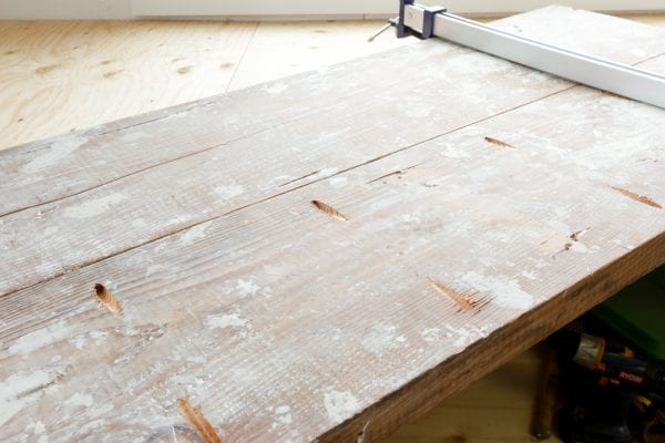 Marvelous DIY Reclaimed Wood Coffee Table This Mamas Dance