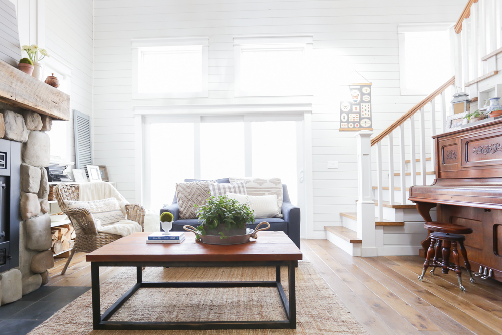 Fancy DIY Reclaimed Wood Coffee Table This Mamas Dance