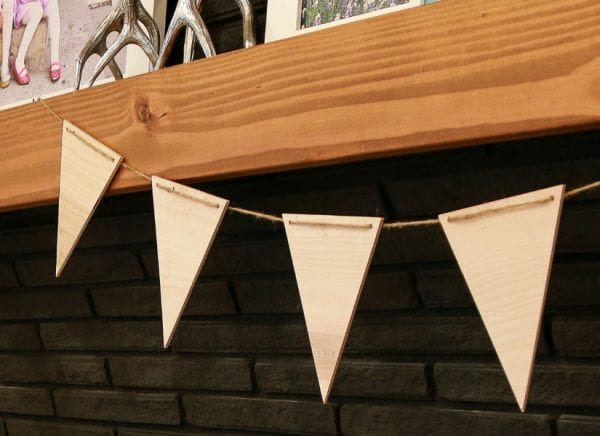 Easy Plywood Pennants By Remodelaholic 4