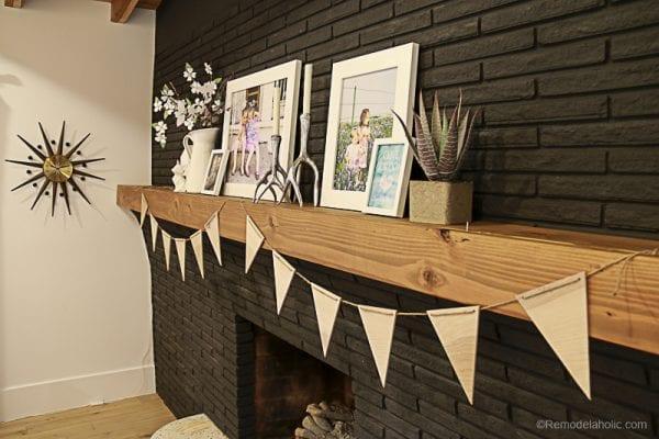 Easy Plywood Pennants By Remodelaholic 6