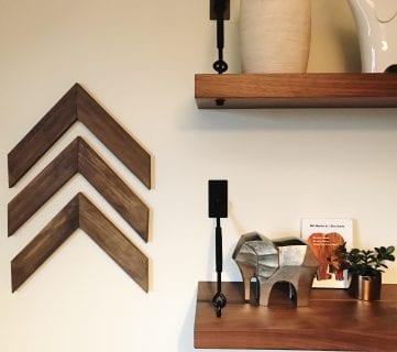Easy DIY Wooden Arrow Wall Decor Tutorial