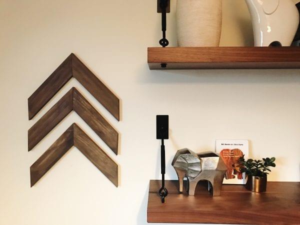 DIY Wall Decor Ideas: Wooden Arrow Tutorial