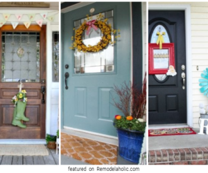Front Porch Decorating Ideas Featured On Remodelaholic