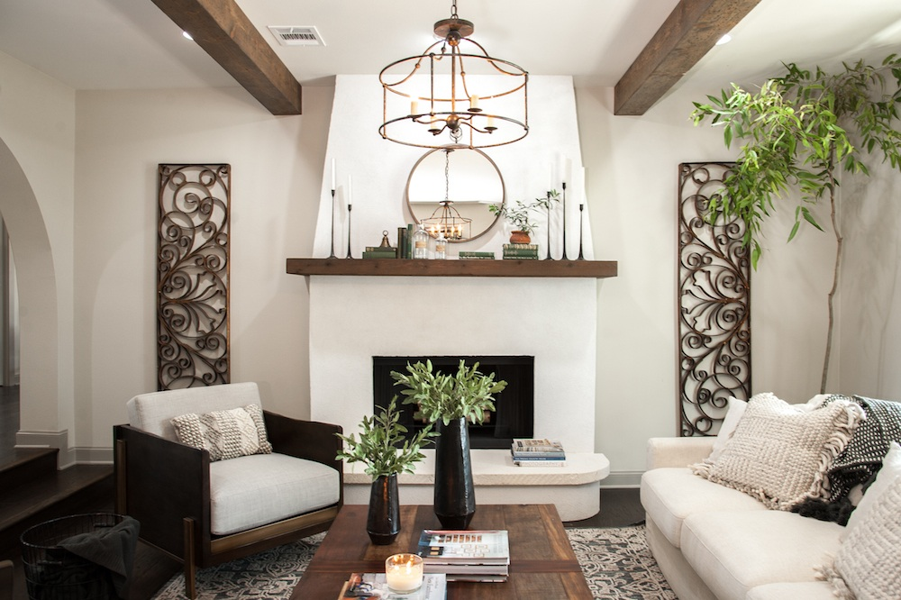 Remodelaholic Get This Look Farmhouse Formal Living Room From Fixer Upper Hot Sauce House