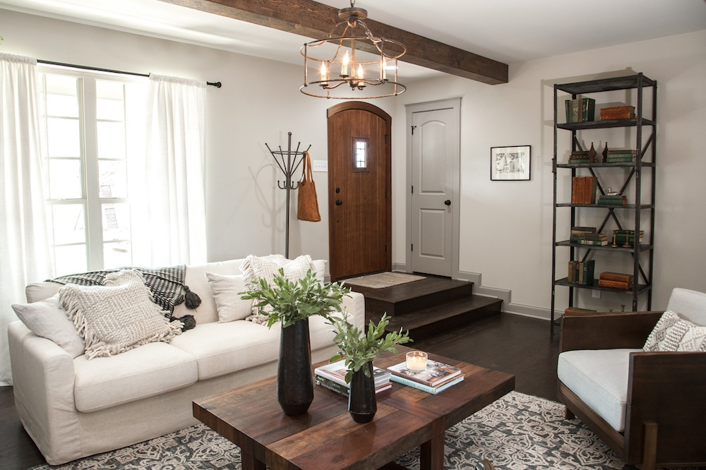 Remodelaholic Get This Look Farmhouse Formal Living