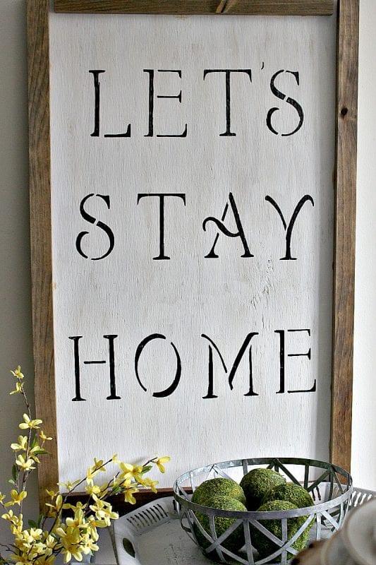 How To Make A Farmhouse Sign Our Crafty Mom 6