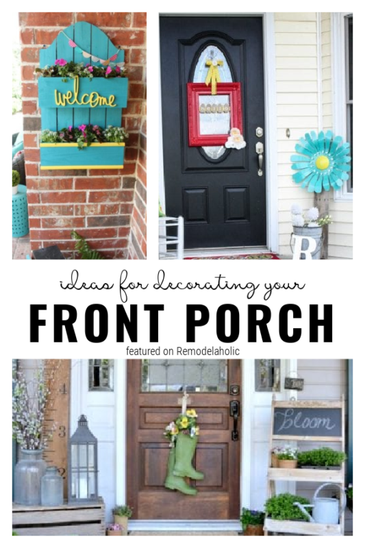Ideas For Decorating A Front Porch, Featured On Remodelaholic
