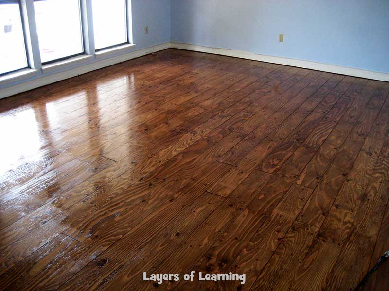 Layers Of Learning Plywood Floors 1