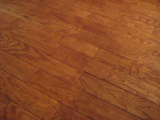Remodelaholic : DIY Plywood Flooring Pros and Cons + Tips