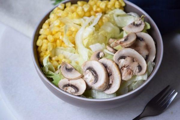 Remodelaholic Mushroom Salad