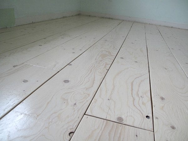 Sharktails, Diy Plywood Plank Floors